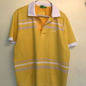HUGO BOSS POLO SHIRT SIZE LARGE 8/10 CONDITION